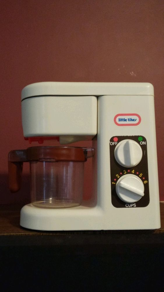 Vintage Little Tikes Coffee Maker Coffee Pot Toy Kitchen Working