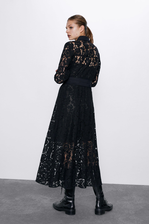 Lace shirt dress | Moda estilo, Moda, Estilo