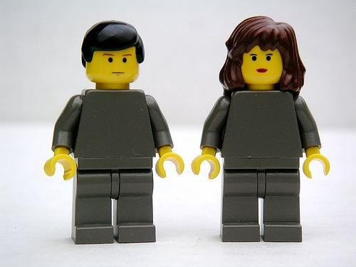 Winston y Julia de la novela 1984, de George Orwell.