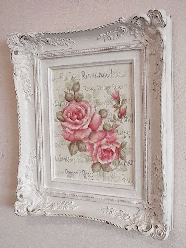 Rosecottage Quenalbertini Rose Picture Frames
