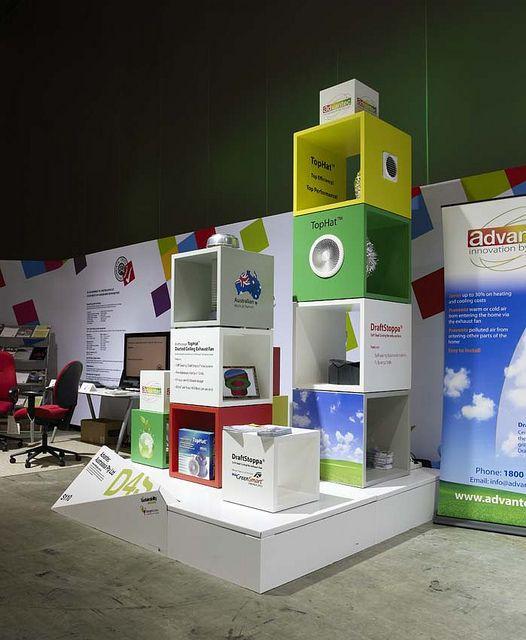 Xanita Exhibition Stand : Xanita design architecture exhibitions cardboard display