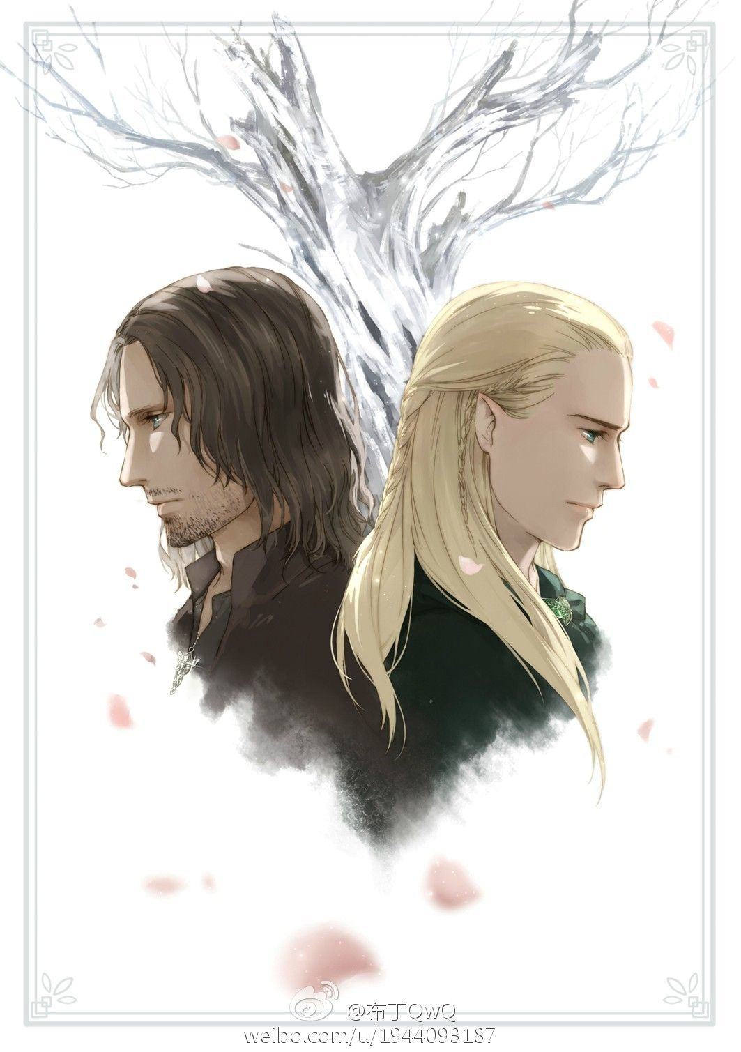 Aragorn and Legolas | Quendi | Pinterest | Legolas, LOTR ...