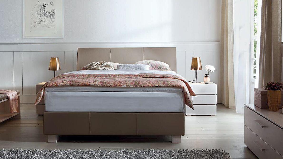 Modell Ivio 10.46, Serie ITW Boxframe Bett, Doppelbett
