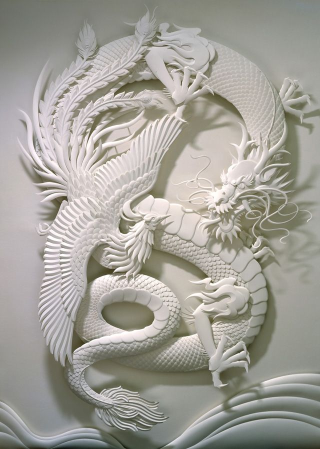 Creative and beautiful paper sculptures by calvin