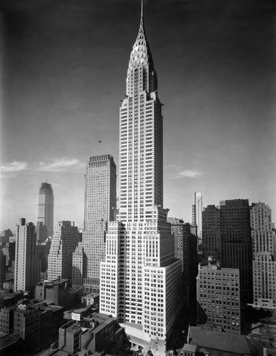 William Van Alen Chrysler Building New York 1928 30 With