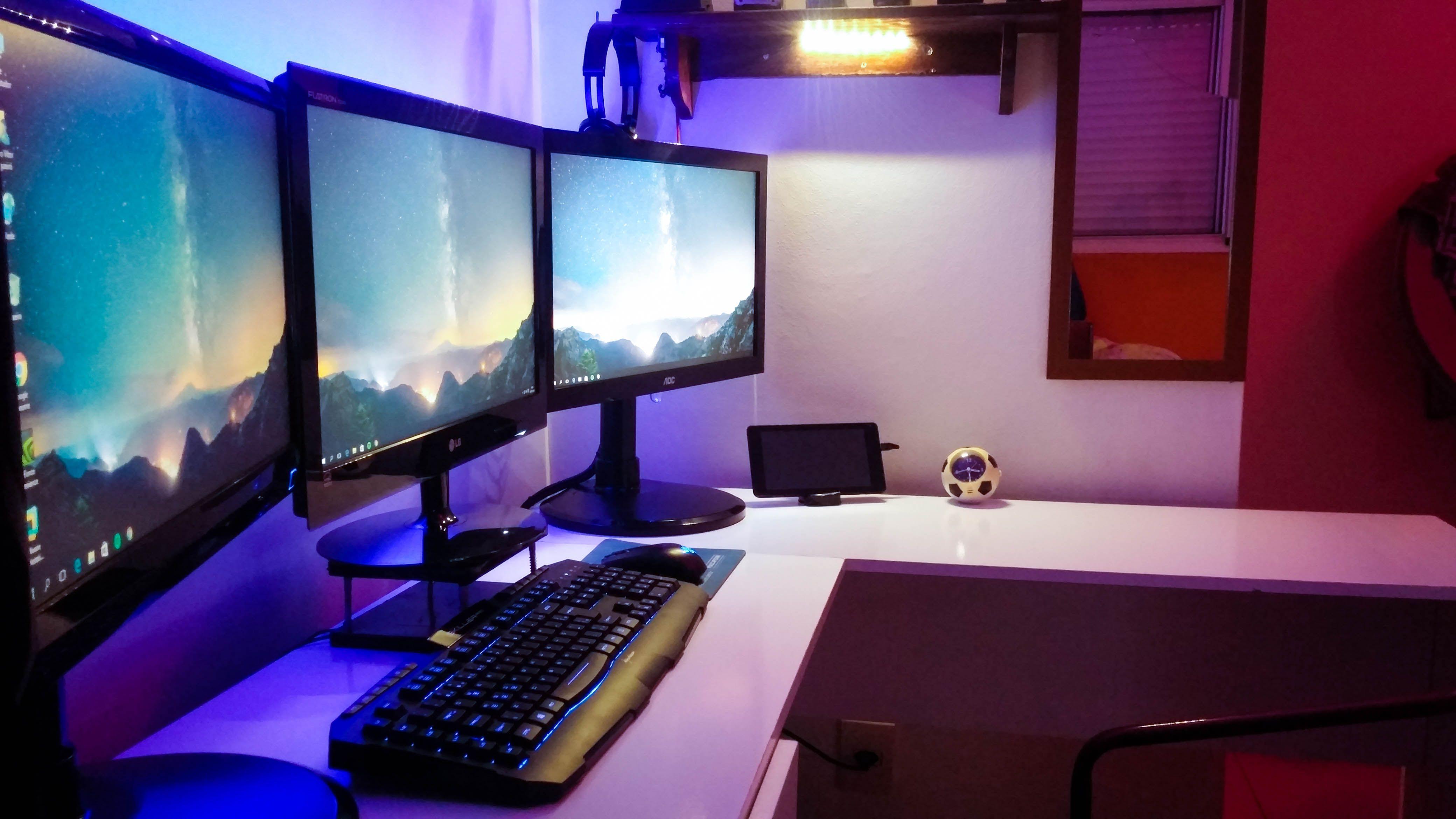 My Labman Caveprogramminggamingbedroom Battlestation