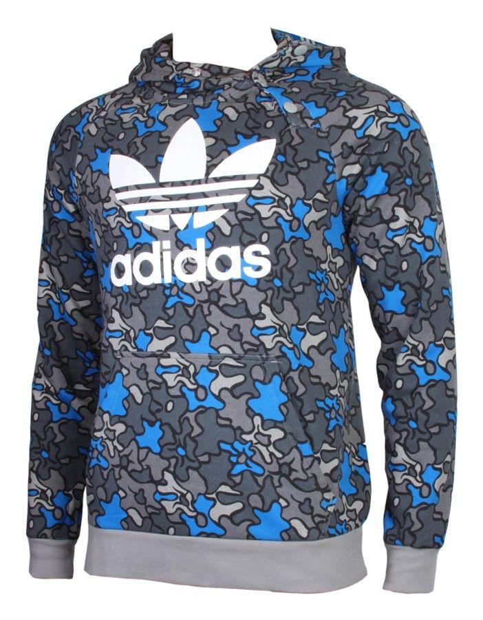 Adidas Originals Herren Sweatshirt In Camouflage Optik