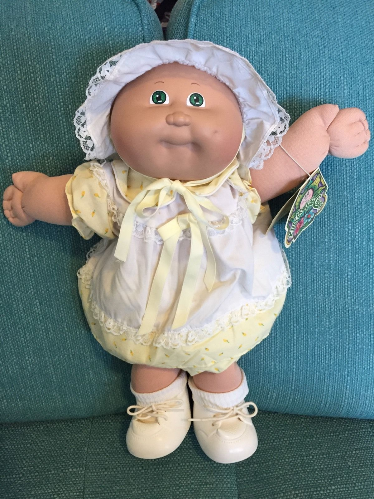 1984 Cabbage Patch Kid Merry Noelle Ebay Vintage Cabbage Patch Dolls Cabbage Patch Kids Clothes Cabbage Patch Babies