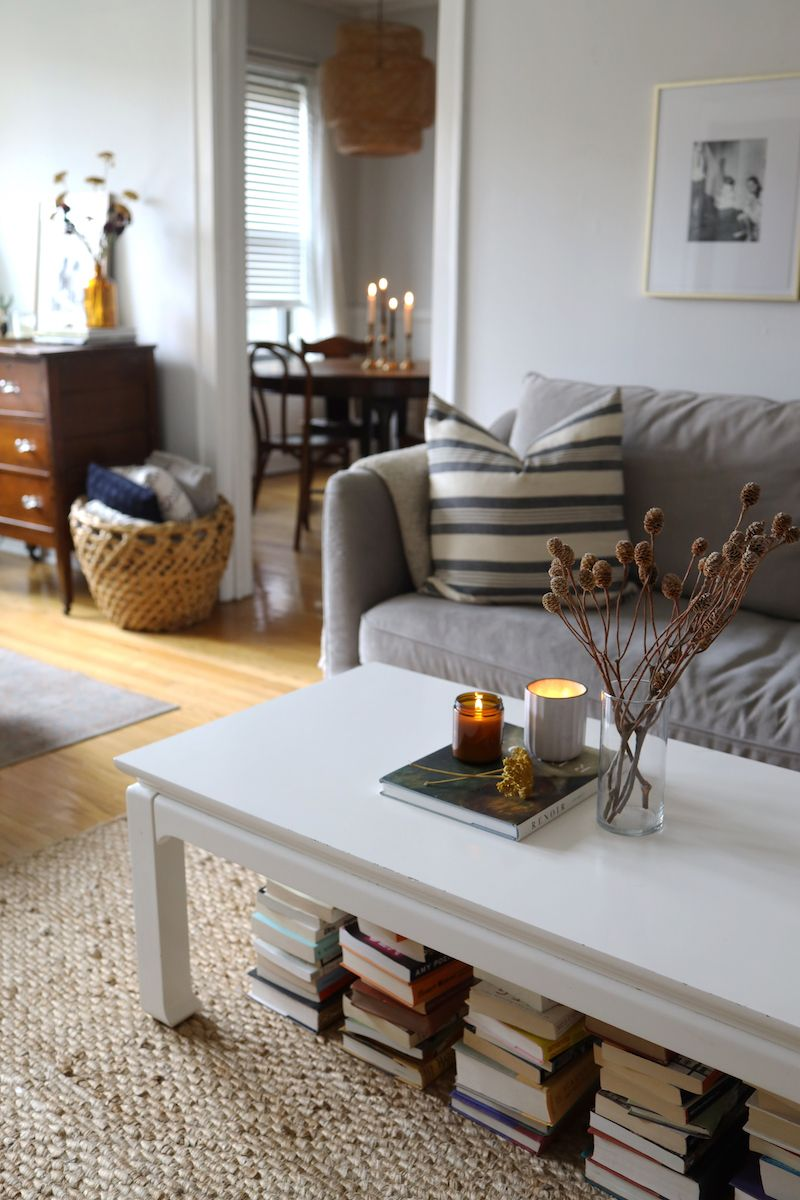 How To Decorate Your Apartment For Fall Under 100 Living Room Grey Apartment Living Room Decor