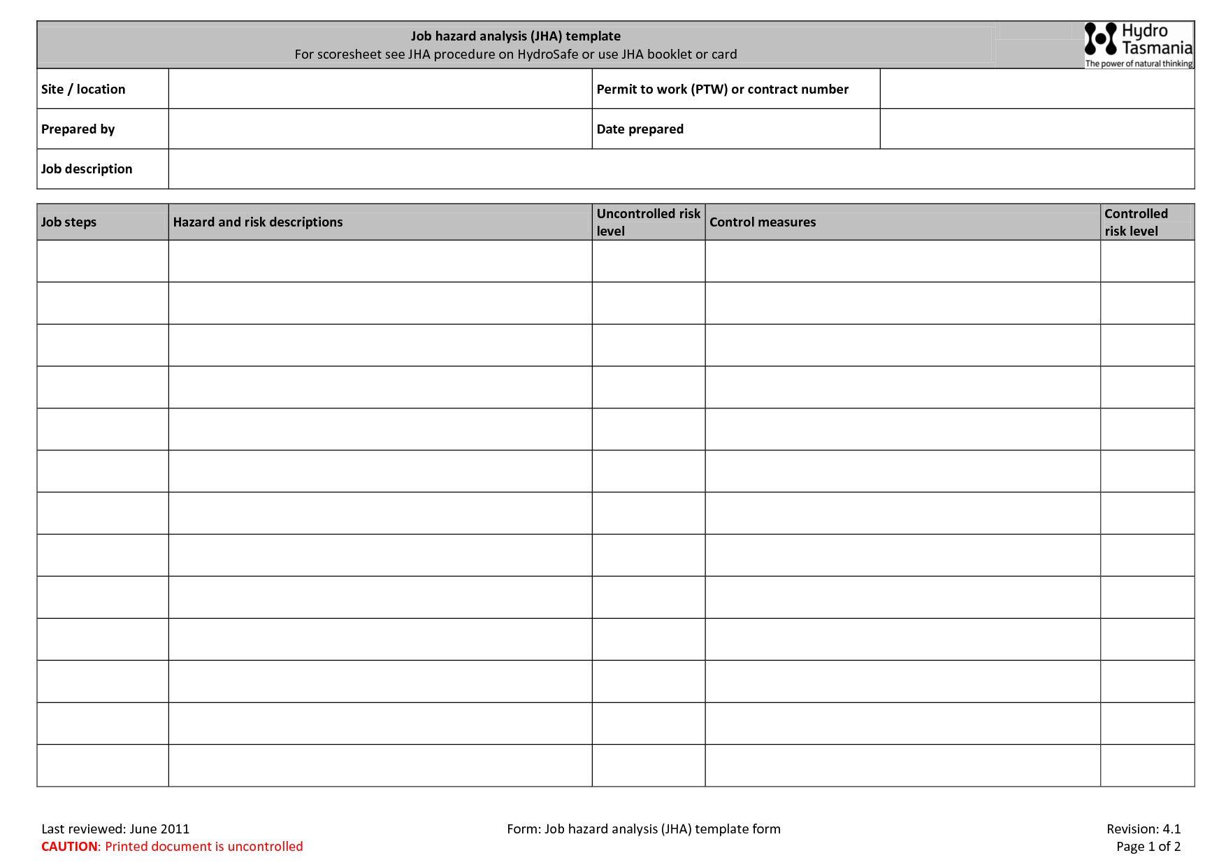 Maintenance Repair Job Card Template Microsoft Excel Pertaining