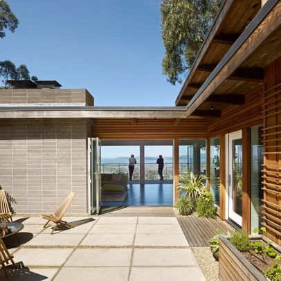 Modern Courtyard Design Ideas, Pictures, Remodel, and ...