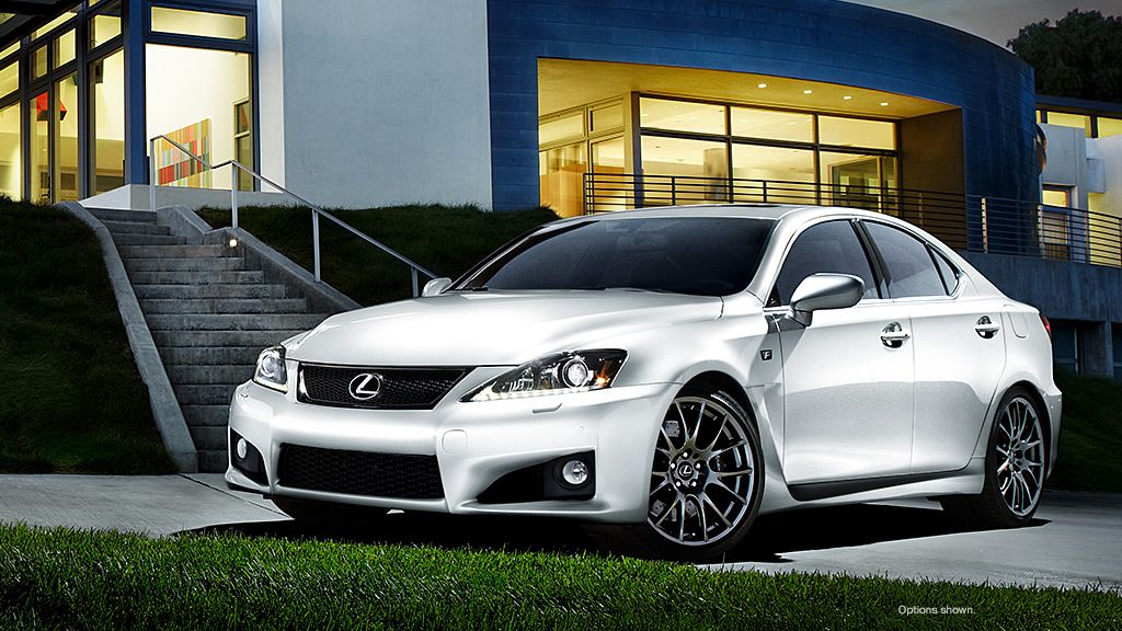 2014 Lexus ISF. What about this LEXUS? Did I mention that