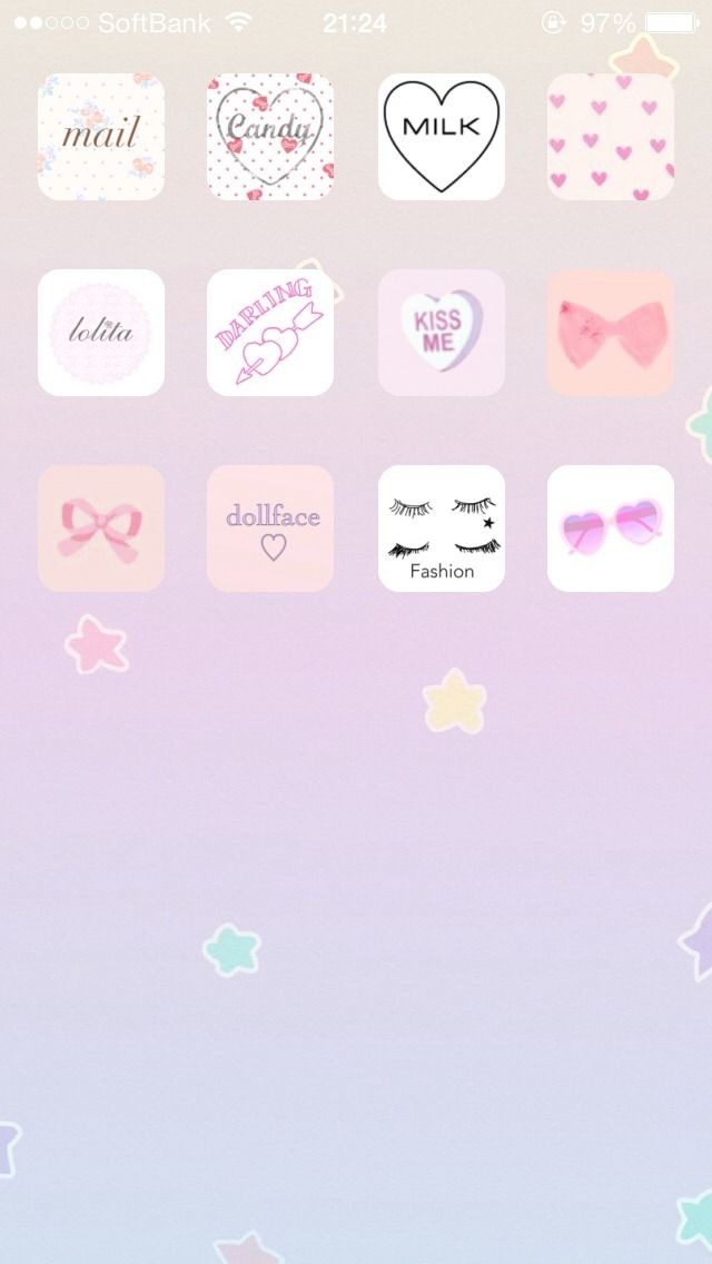 Cocoppa Iphone Cute Icon Wallpaper Cute Wallpapers Cute Girl Wallpaper Phone Organization