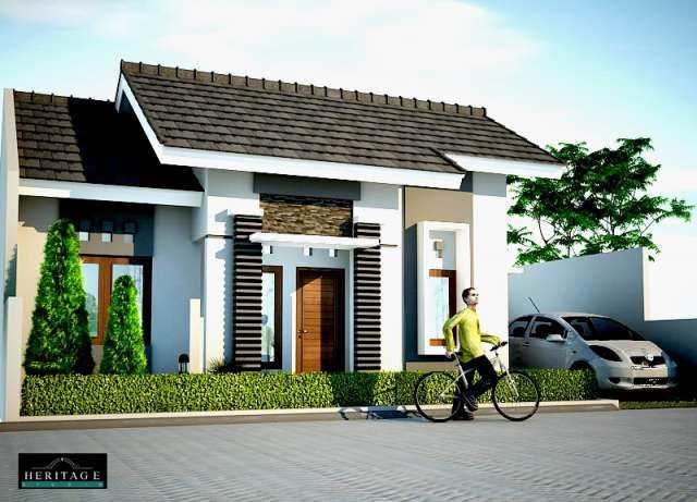 Modern bungalows wallpaper box bungalow house design for Modern small bungalow designs