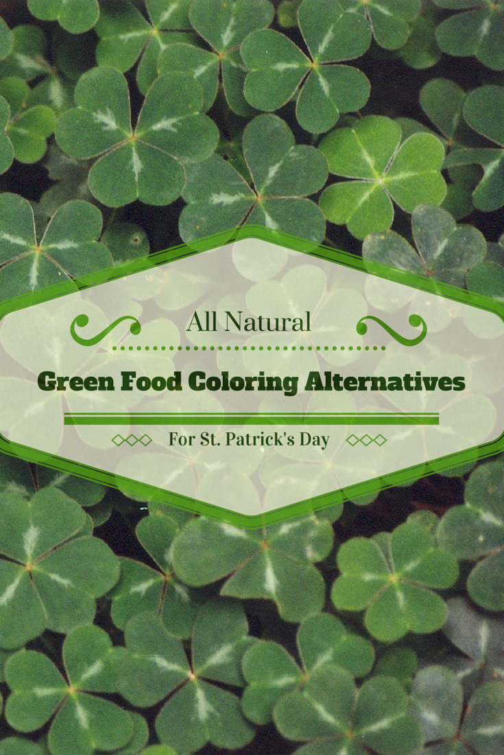All Natural Green Food Coloring Dye Alternatives for St ...