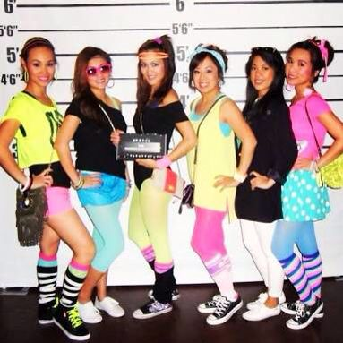 80 S Fashion Clothes Are Neon And More On Looking A Pop And A Disco Girl 80s Party Outfits 80s Outfit 80s Fashion