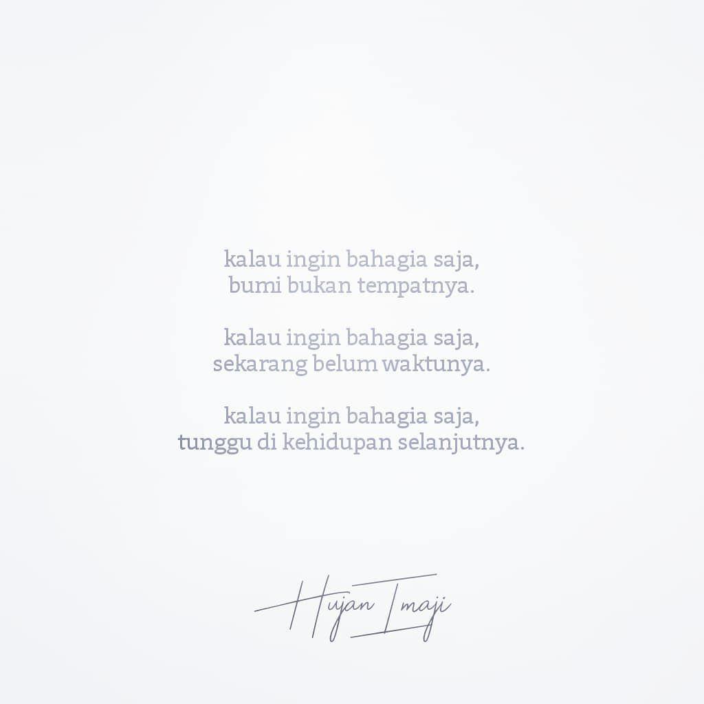 quotes sajak puisi langit senja hujan alam semesta