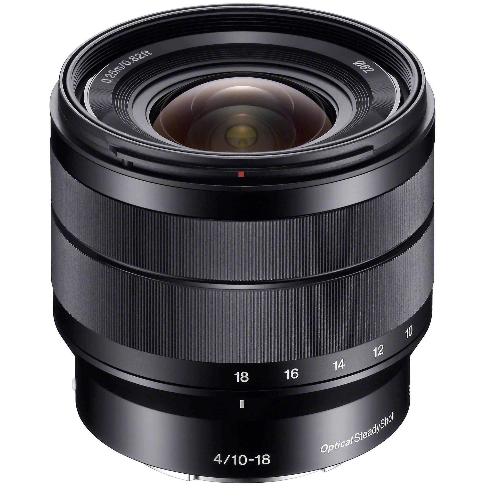 Sony E 10 18mm F 4 Oss Lens Sony Camera Mirrorless Camera Zoom Lens