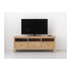 Ikea hemnes mueble tv marr n claro m habitaci n ideal pinterest hemnes marrones - Mueble tv hemnes ...