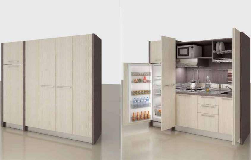 Cucine monoblocco nel 2019 | appartamento marcella | Tall cabinet ...
