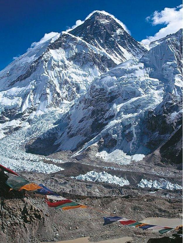 La Plus Haute Montagne Du Monde : haute, montagne, monde, Beaux, Sommets, Enneiges, Monde, Everest, Himalaya, Paysages, Magnifiques,, Paysage,, Montagnes