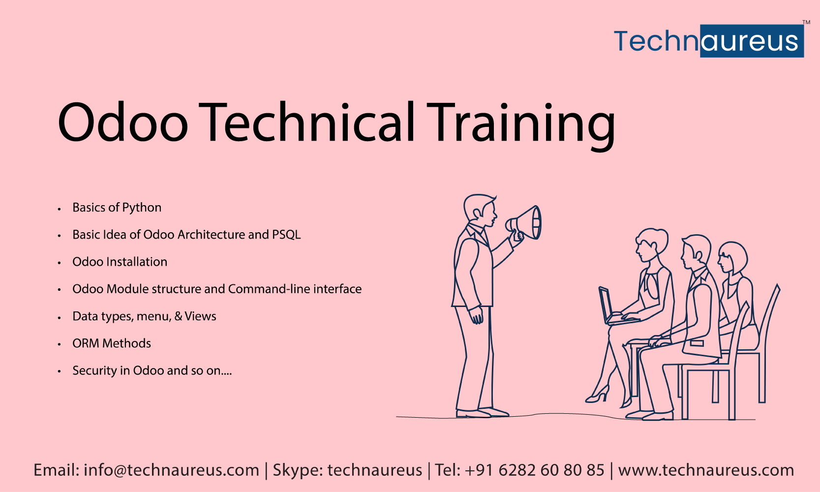 Odoo Training Train, Knowledge, Functional training