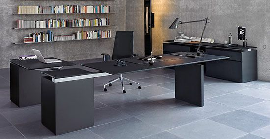 very slick looking desk. | computer office furniture and sweet