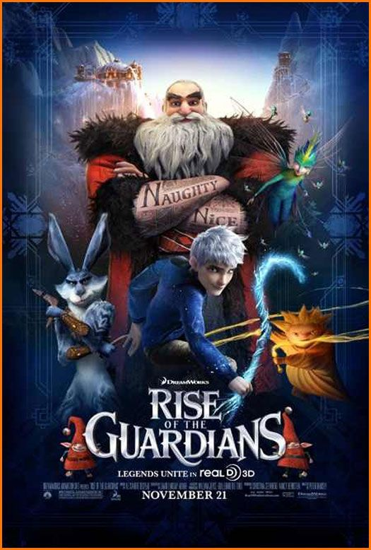 Theater One to the Right – Life of Pi/Rise of the Guardians