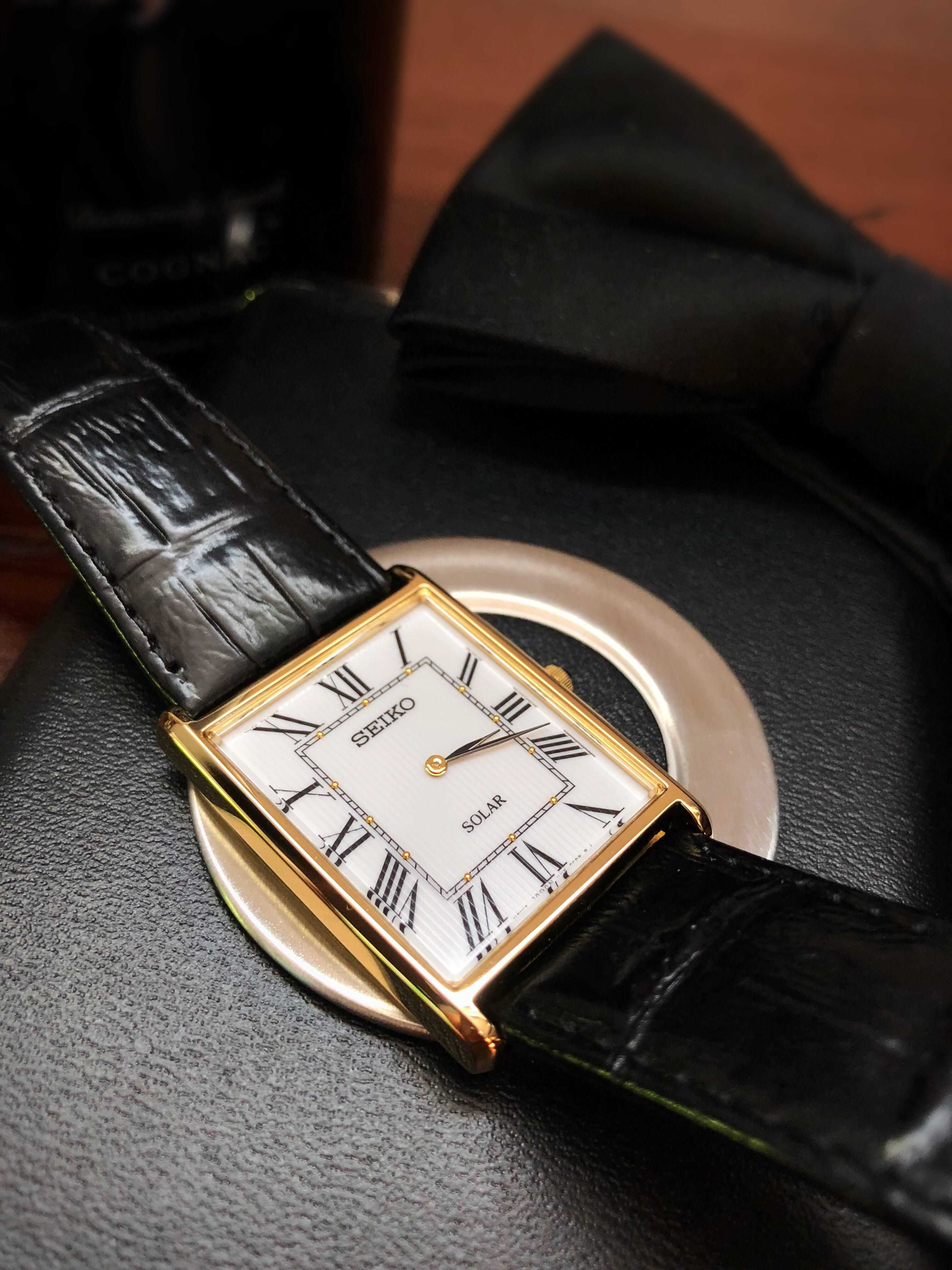Affordable Cartier Tank Homage Alternatives With Seiko Tank Watches Luxurywatch Menswatch Homagewatch Tank Watch Mens Watches Silver Cartier Tank