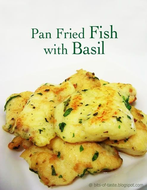 Pan fried fish with basil superlicious pinterest pan for Is fried fish healthy