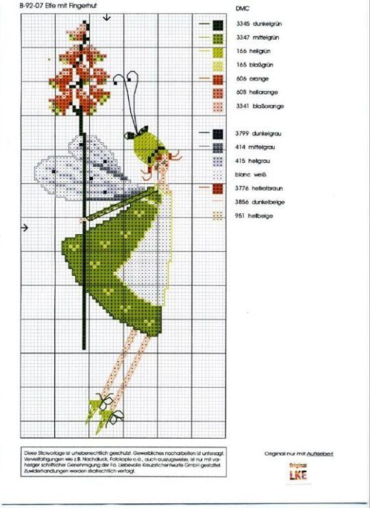 Gallery.ru / B-91-07 - Нина -эльф - Ulrike muchos otros modelos con claros esquemas
