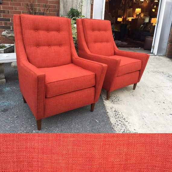 Orange Accent Chair Studded Accent Chair Burnt Orange
