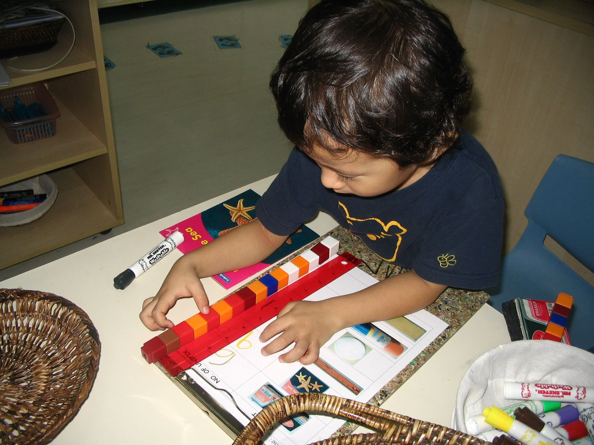 Measuring with unifix cubes literacy and numeracy