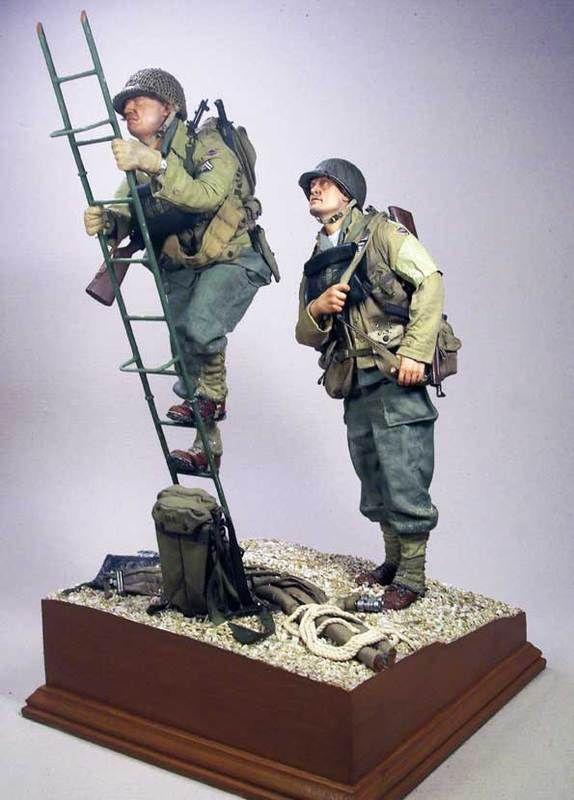 JUST TOO REALISTIC 1/6 Diorama! - MODELING - U S  Militaria
