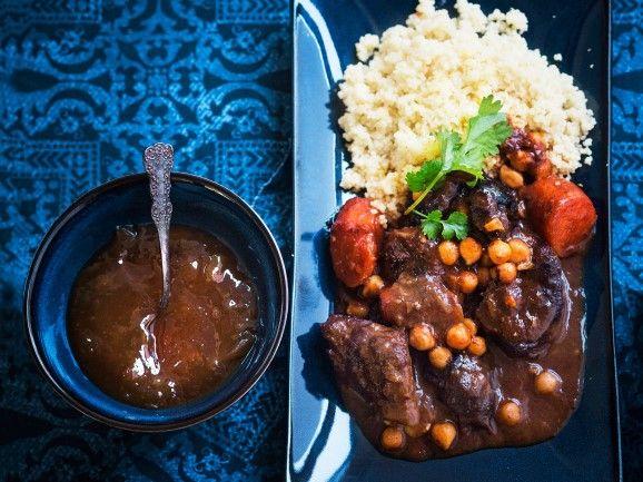 Marokkolainen lihapata / Moroccan beef stew / Kotiliesi.fi / Kuva/Photo: Sampo Korhonen/Otavamedia