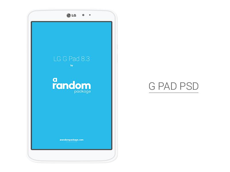 LG G Pad 8 3 PSD | Freebies PSD | Mobile app design, App