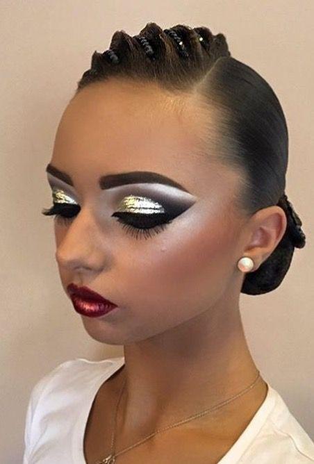 Épinglé par Kelly Simon sur Ballroom makeup