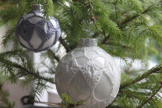 Patronen Voor Het Omhaken Van Kerstballen Klein Groot Leuk Om