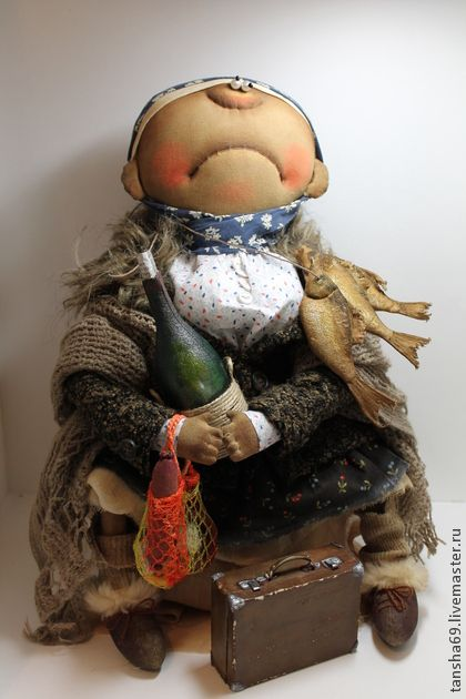 Мама скора будит... - примитив,примитивная кукла,примитивы,текстильная кукла