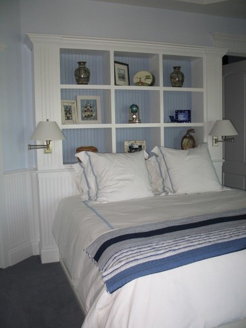 Storage instead of headboard it no wasted space great for - What to use instead of a headboard ...
