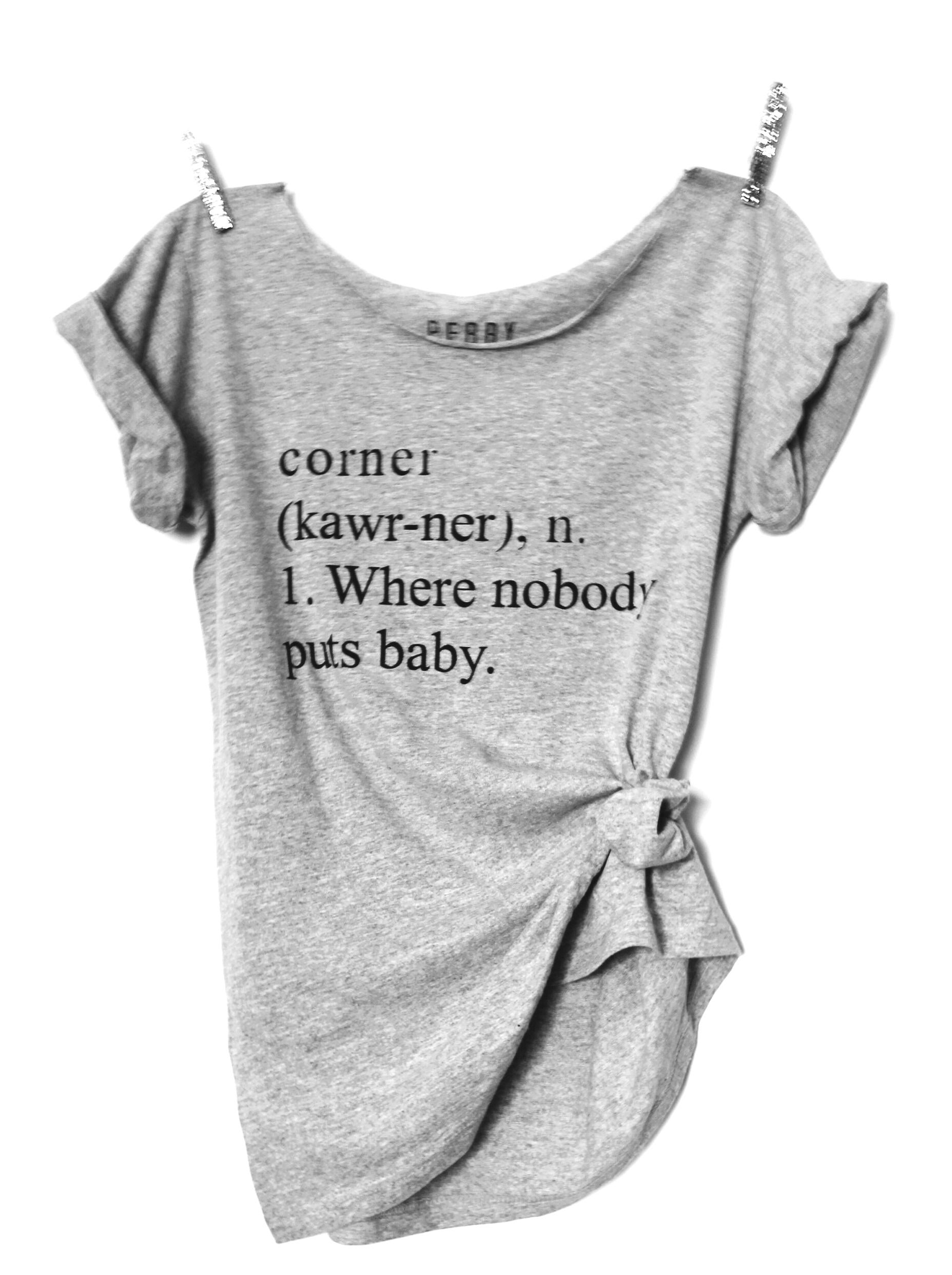 a802b18a Bestseller- Nobody Puts Baby In The Corner (FREE US SHIPING) Custom Tees,
