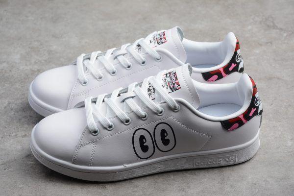 5228304bbcb adidas Stan Smith White/Bright Red-Bright Powder CM8417   Adidas New ...