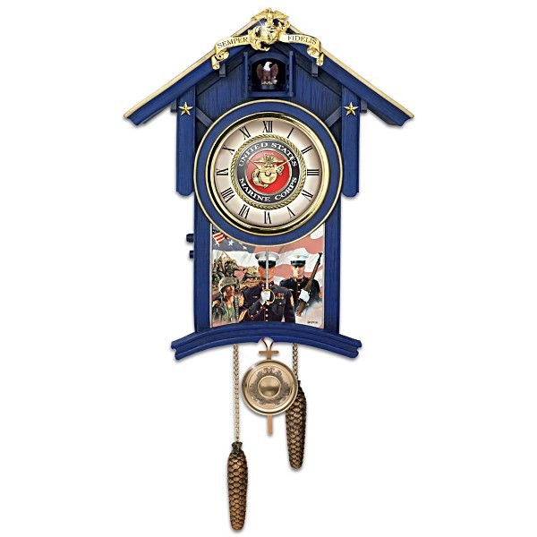 Red White And Blue Cuckoo Clock Clock Cuckoo