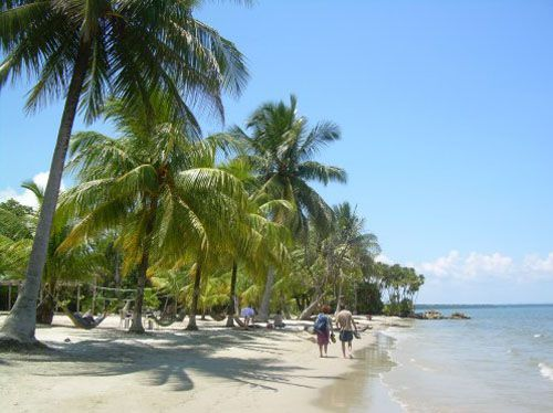 Livingston - playa blanca - guatemala