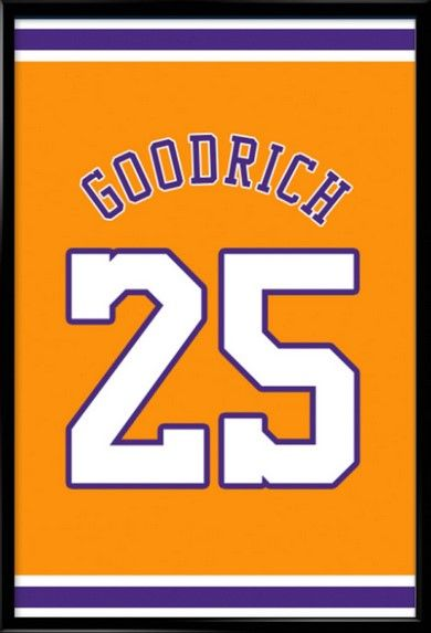 b6973e440 Gail Goodrich Number 25 Los Angeles Lakers Jersey Art Print. Take a look at  our