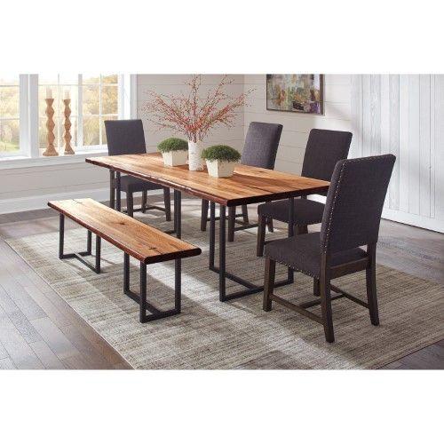 Scott Living Binghamton Dining Side Chair Set Of 2 Grey