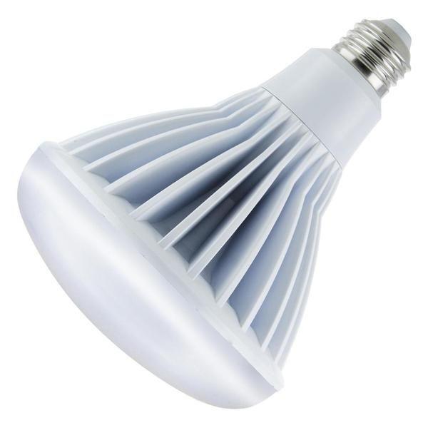 20 watt - 120  volt - BR40 - Medium Screw (E26) Base - 5,000K - White - Flood - Dimmable - LED   Sunlite LED Reflector Flood Light