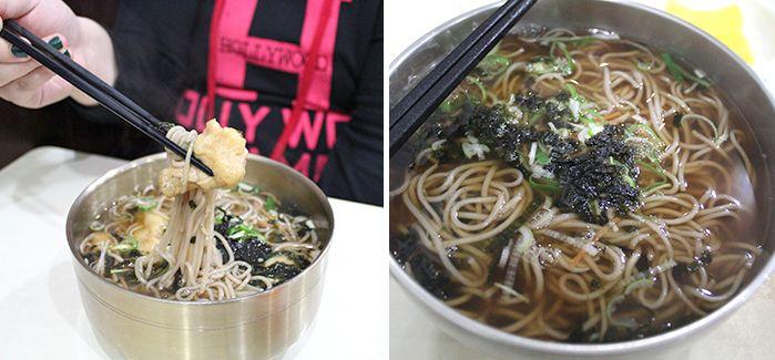 Tour de comida coreana por Gwangju |En la calle Chungjang-no de Gwangju se encuentra el restaurante 'Cheongwol momil', que ha preservado el sabor desde su apertura en el año 1960. Si visita Cheongwon no debe perderse sus especialidades de memil (fideos de alforfón) calientes y de memil frío.