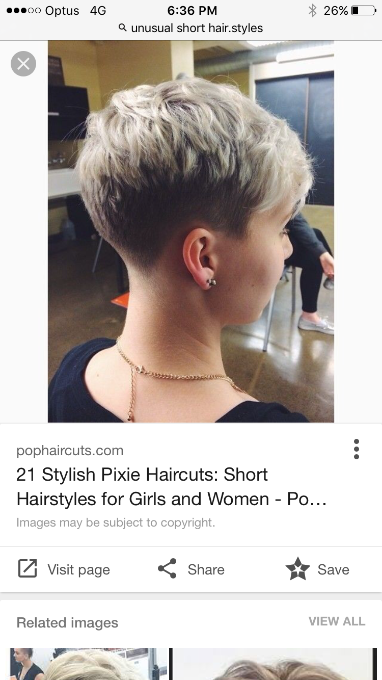 Pin by jessica rendle on hair glitter pinterest pixies haircuts