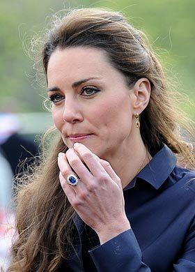 kate middleton has her wedding ring shrunk - Princess Kate Wedding Ring